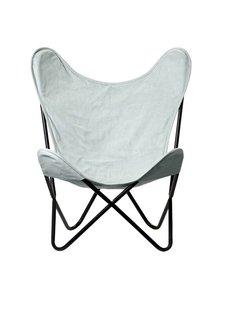 Bloomingville silla de la mariposa - Verde - Bloomingville