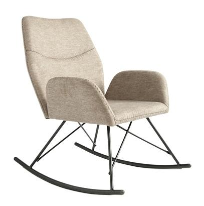 Bloomingville Chaise à bascule - gris - Bloomingville