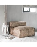 Petite Lily Interiors Silla Lounge Resort - jacinto de agua - 100xh63cm - Natural