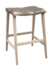 Uniqwa Furniture  Outdoor Barstool Annika - natural/taupe - 52x42xh69cm - Uniqwa Furniture