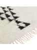Petite Lily Interiors Alfombra Bereber - Blanco negro - 200x300cm