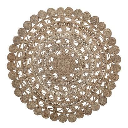 Bloomingville Round rug jute - natural - Ø120cm - Bloomingville