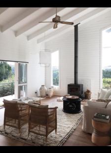 Beautiful Balanced Scandinavian Etnic livingroom - MyScandinaveHome