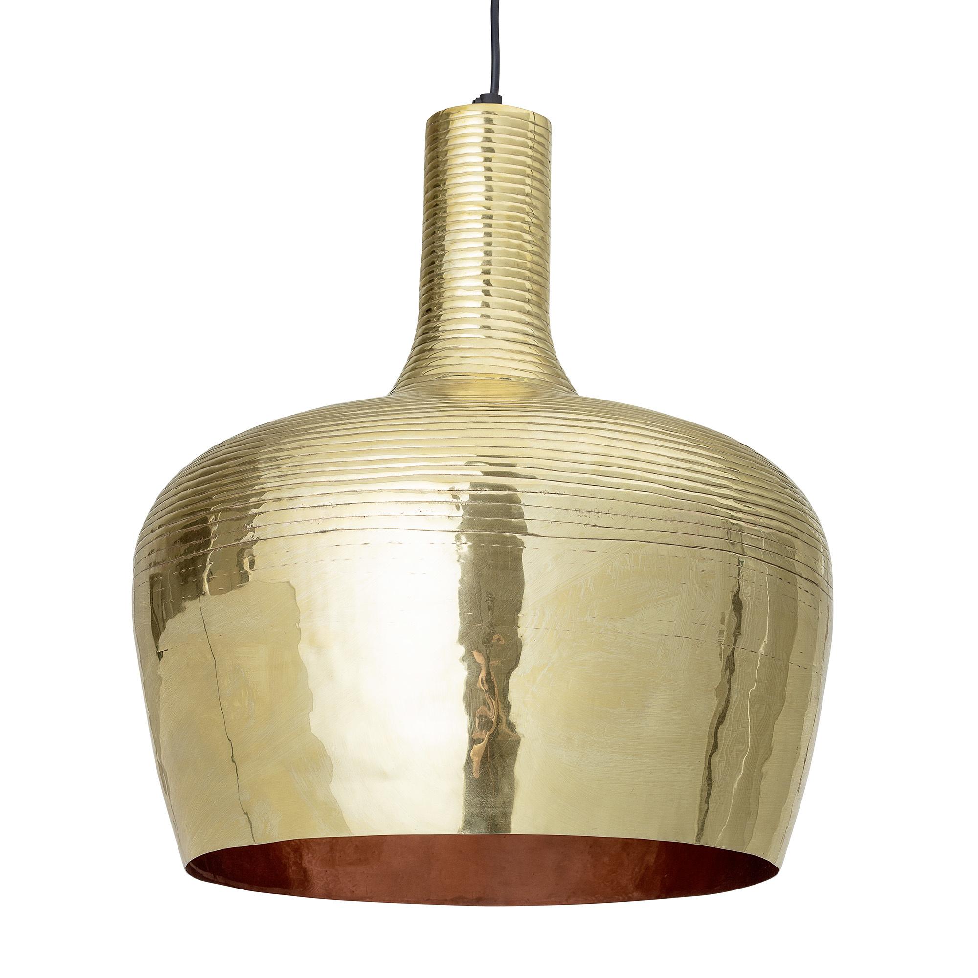 Bloomingville pendant lamp etnic - brass - Ø36xH44cm - Bloomingville