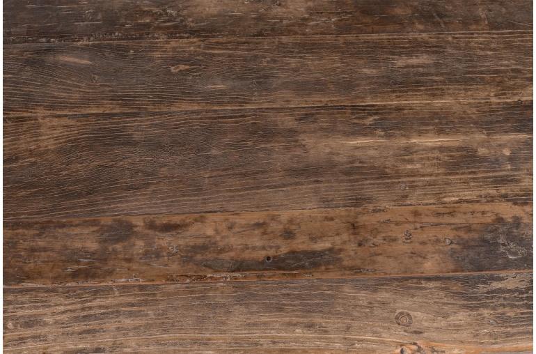 Table basse vintage - 191x61xh45cm - Bois d'orme