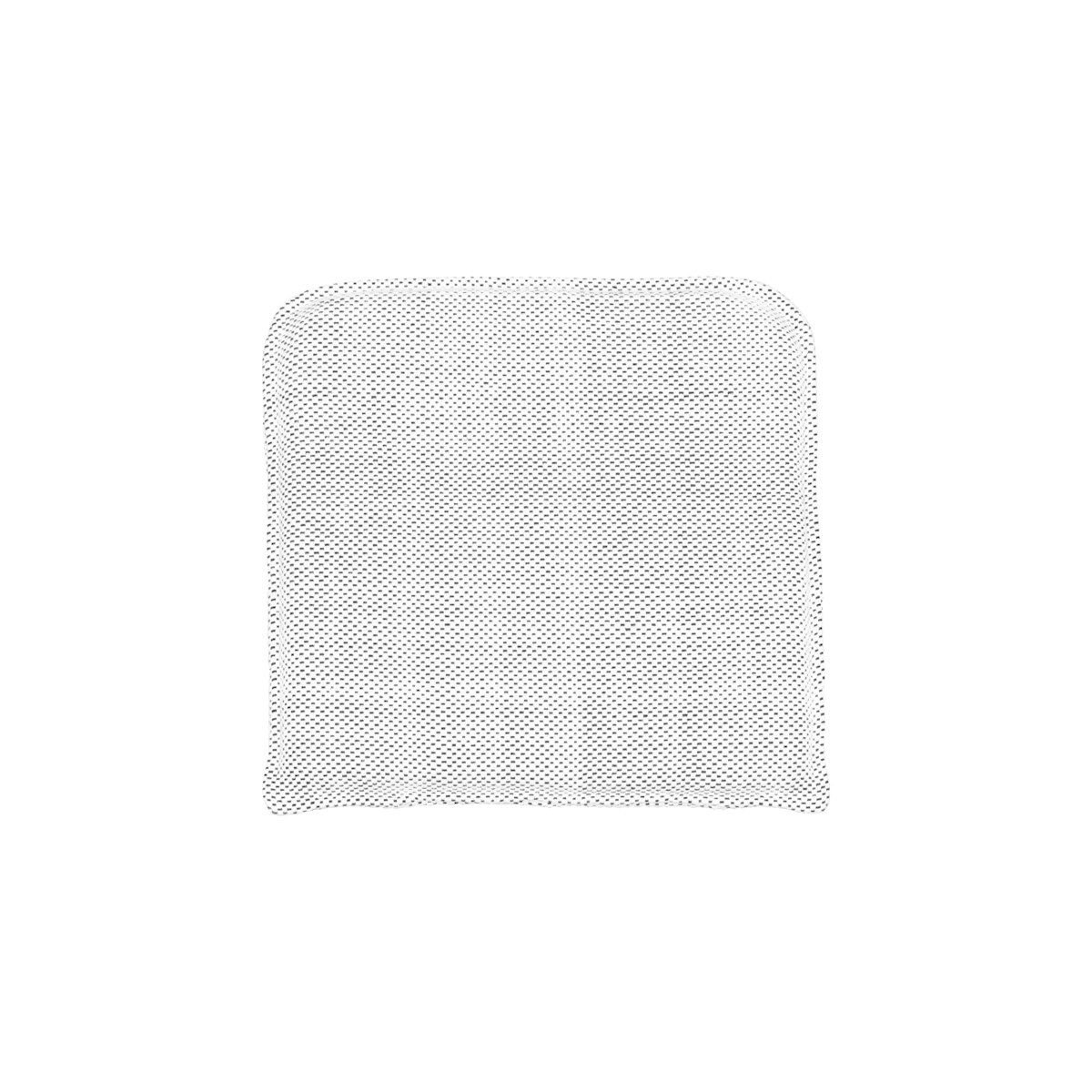 House Doctor Seat pad CUUN - black & white - 48x48cm - House Doctor