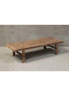 Natural coffee table XL -186x73xh40cm - Cyprès brut