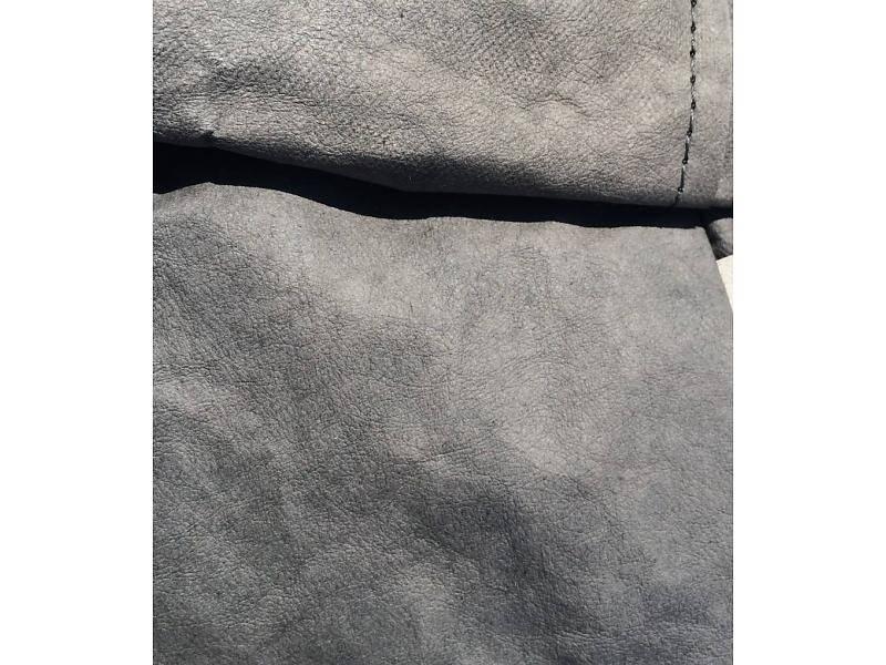 Uashmama Sac en Papier Lavable - Gris Foncé - Uashmama