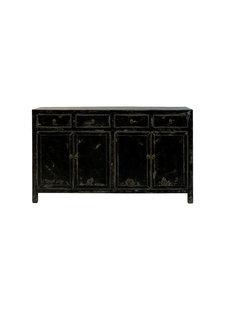 Snowdrops Copenhagen Buffet Table Vintage - noir - 152x42xh90cm