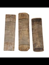 Petite Lily Interiors Planche à laver antique en bois brut - Piece Unique