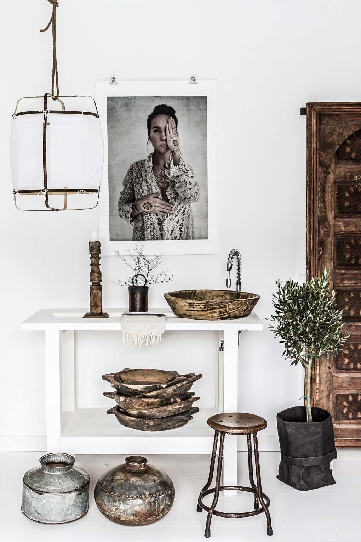 Un salon Scandinave Ethnique bien équilibré - vu sur MyScandinaveHome - Copy