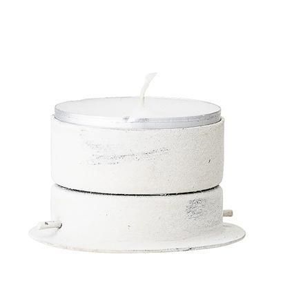 Bloomingville Votive / candleholder - Ø15xH15cm - white - Bloomingville