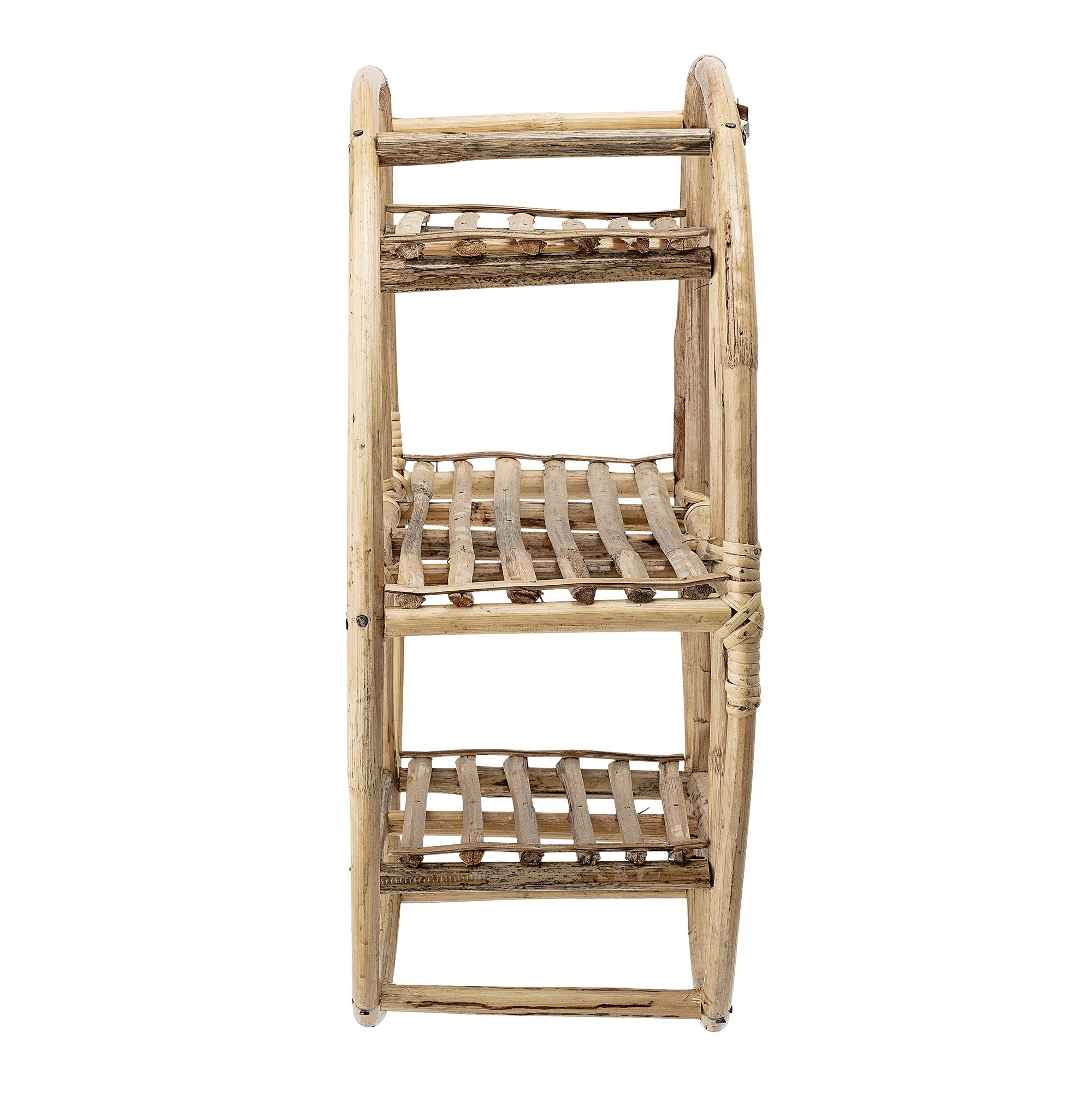 Bloomingville Bookcase - Bamboo - nature - Ø52xH20cm - Bloomingville