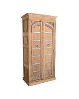 Petite Lily Interiors Cabinet India - wood & metal - h202x101x55cm - Unique Piece