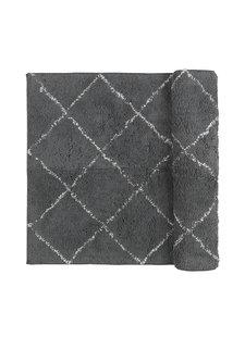 Broste Copenhagen Scandinavian-Ethnic rug 'Janson' - grey - 70x140cm - Broste Copenhagen