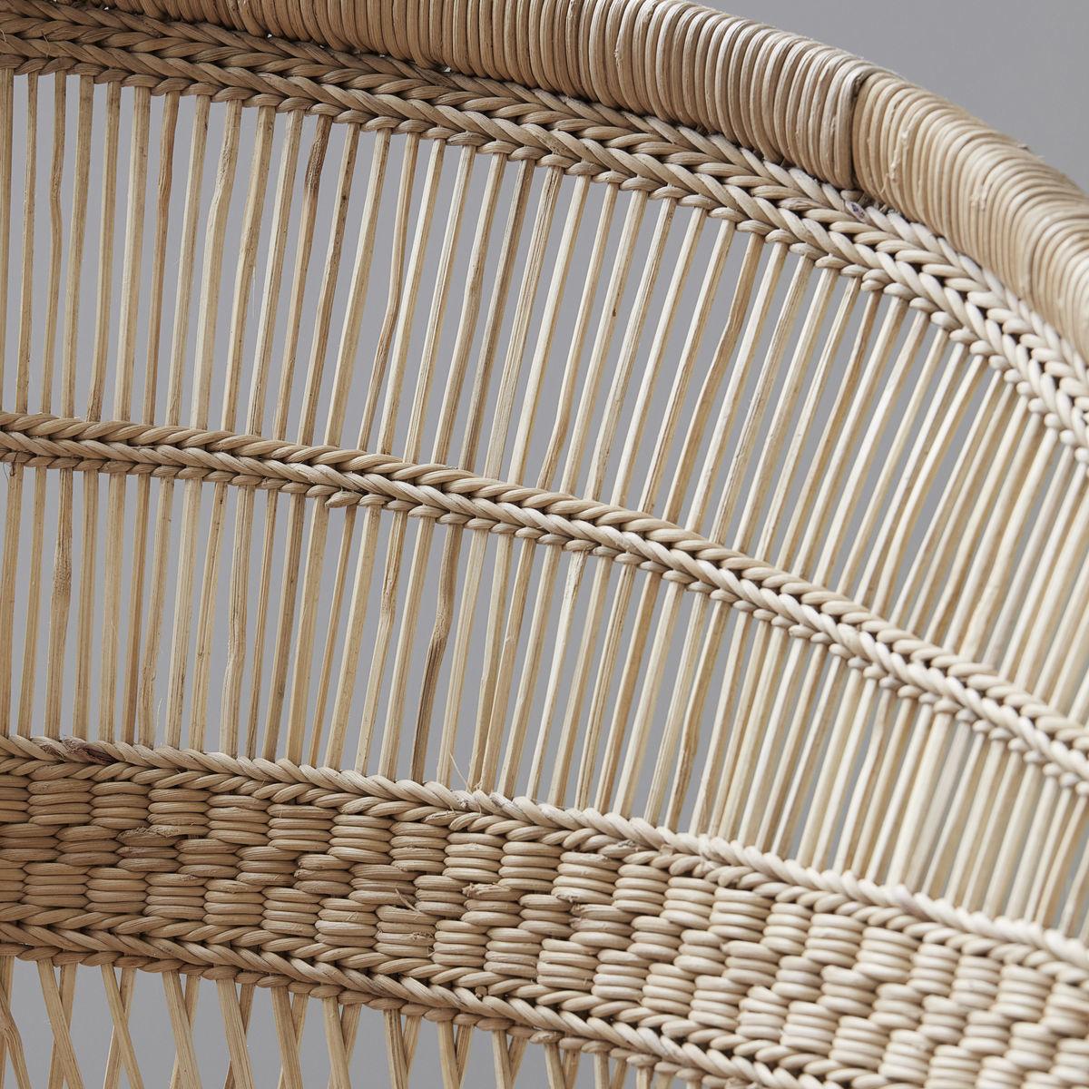 Petite Lily Interiors Malawi chair Boho-Chic - 45xw78xh78cm - naturel