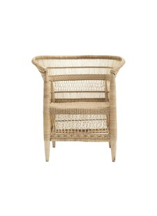Petite Lily Interiors Malawi chair Boho-Chic - 45xw78xh78cm - naturel