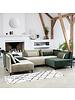 House Doctor Scandinavian-Ethnic rug 'Ribas' - Ivory / gray - 90x200 - House Doctor