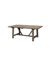 Snowdrops Copenhagen Table de salle à manger bois brut - 200x100xh78H