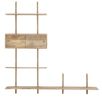 Bloomingville Wall Display / TV stand - L210xH218xW28cm - Bloomingville