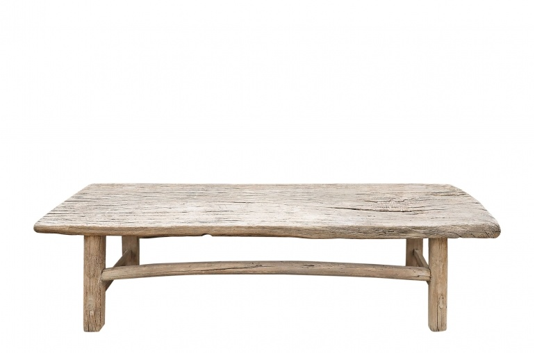 Snowdrops Copenhagen Natural coffee table XL - 161x40xh45cm - Elm Wood
