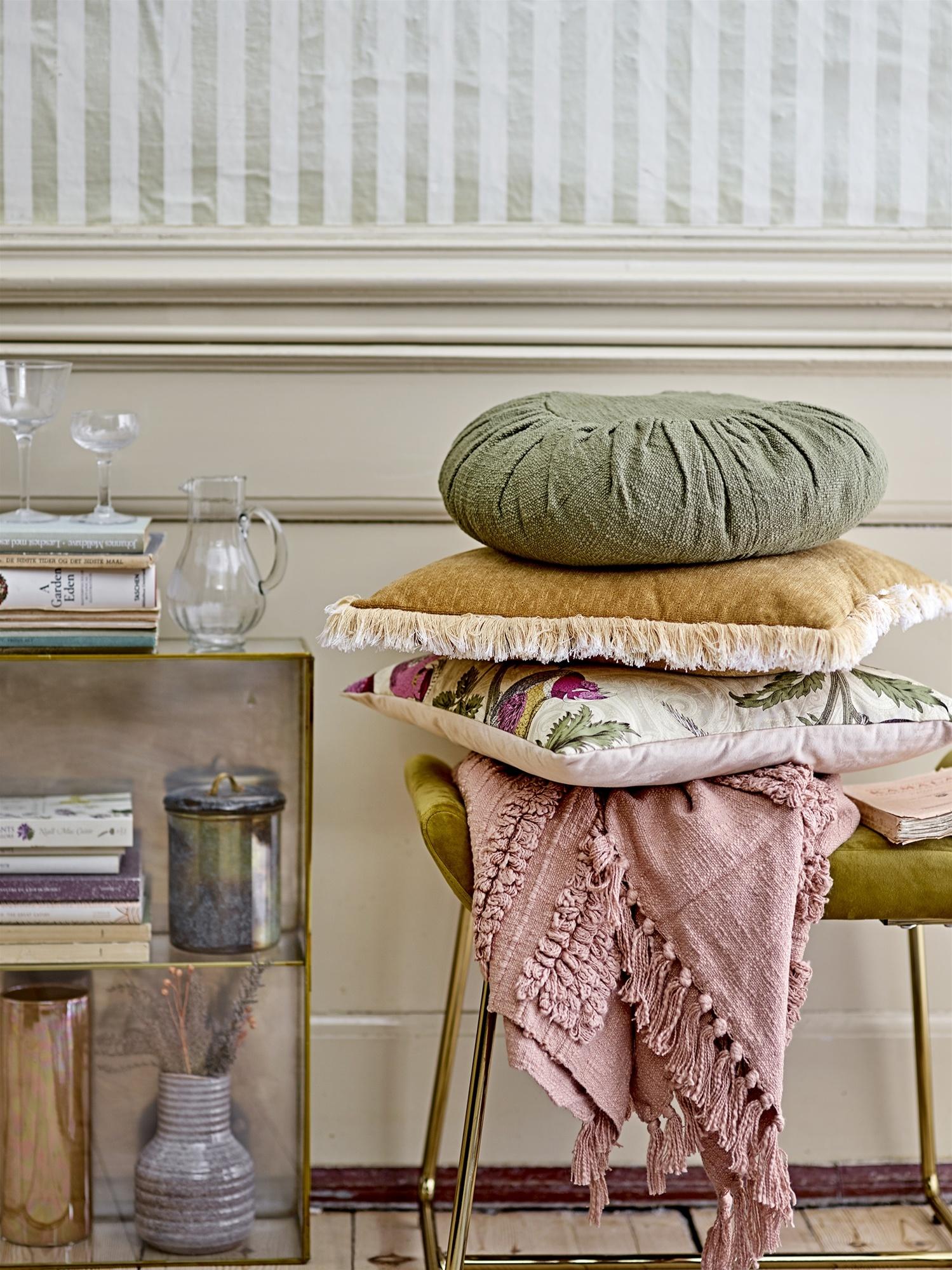 Bloomingville Cushion - Yellow - 45x45cm - Bloomingville
