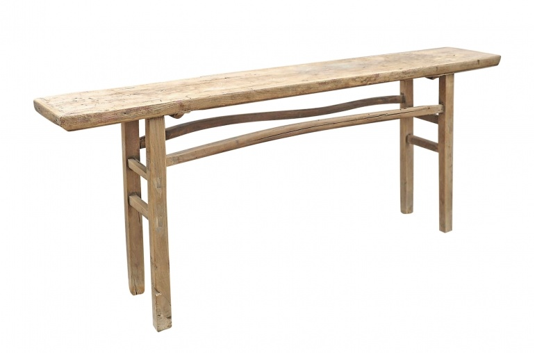 Petite Lily Interiors Console table Vintage - 208x33xh83cm - unique product - elm wood