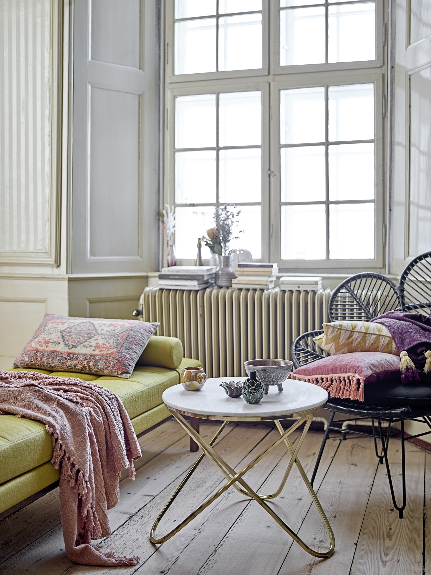 Bloomingville Cushion - Pink - 45x45cm - Bloomingville