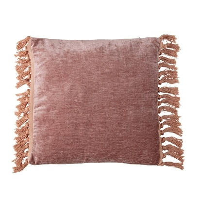 Bloomingville Coussin - Rose - 45x45cm - Bloomingville