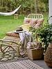 Bloomingville Coussin pour banc / chaise - multi-color - L145xH10xW65cm - Bloomingville