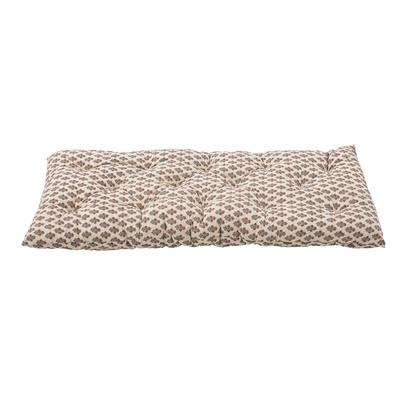 Bloomingville Seat / Bench cushion mattress - multi-color - L145xH10xW65cm - Bloomingville