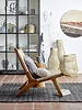 Bloomingville Occasional Chair teck and rattan - Natural - Bloomingville