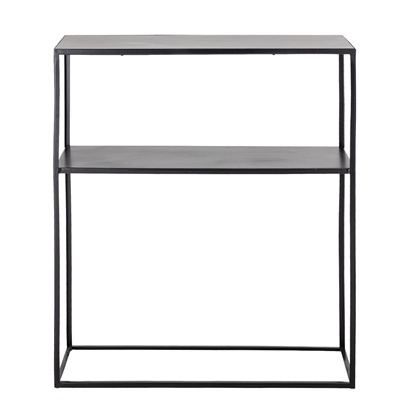 Bloomingville Console metal black - L75,5xH90xW30,5cm - Bloomingville