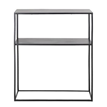 Bloomingville Console - métal - noir - L75,5xH90xW30,5cm - Bloomingville