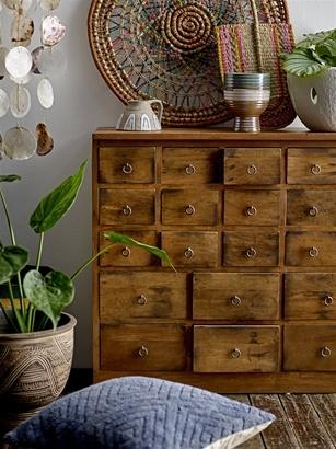 Bloomingville Factory cabinet 26-drawer - L112xH78xW32cm - Unique Piece