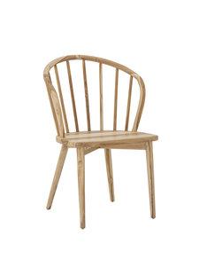 Bloomingville Teak dining chair 'Wendel' -natural - Bloomingville