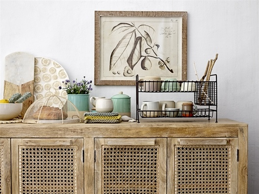 Bloomingville Sideboard Nature - L175xH75xW48 - Bloomingville