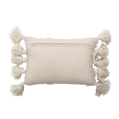 Bloomingville Coussin en coton - blanc - L35xW20 - Bloomingville