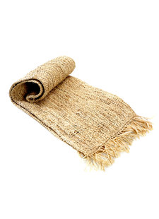 Bazar Bizar Table Runner Raffia- 140x35cm - Natural