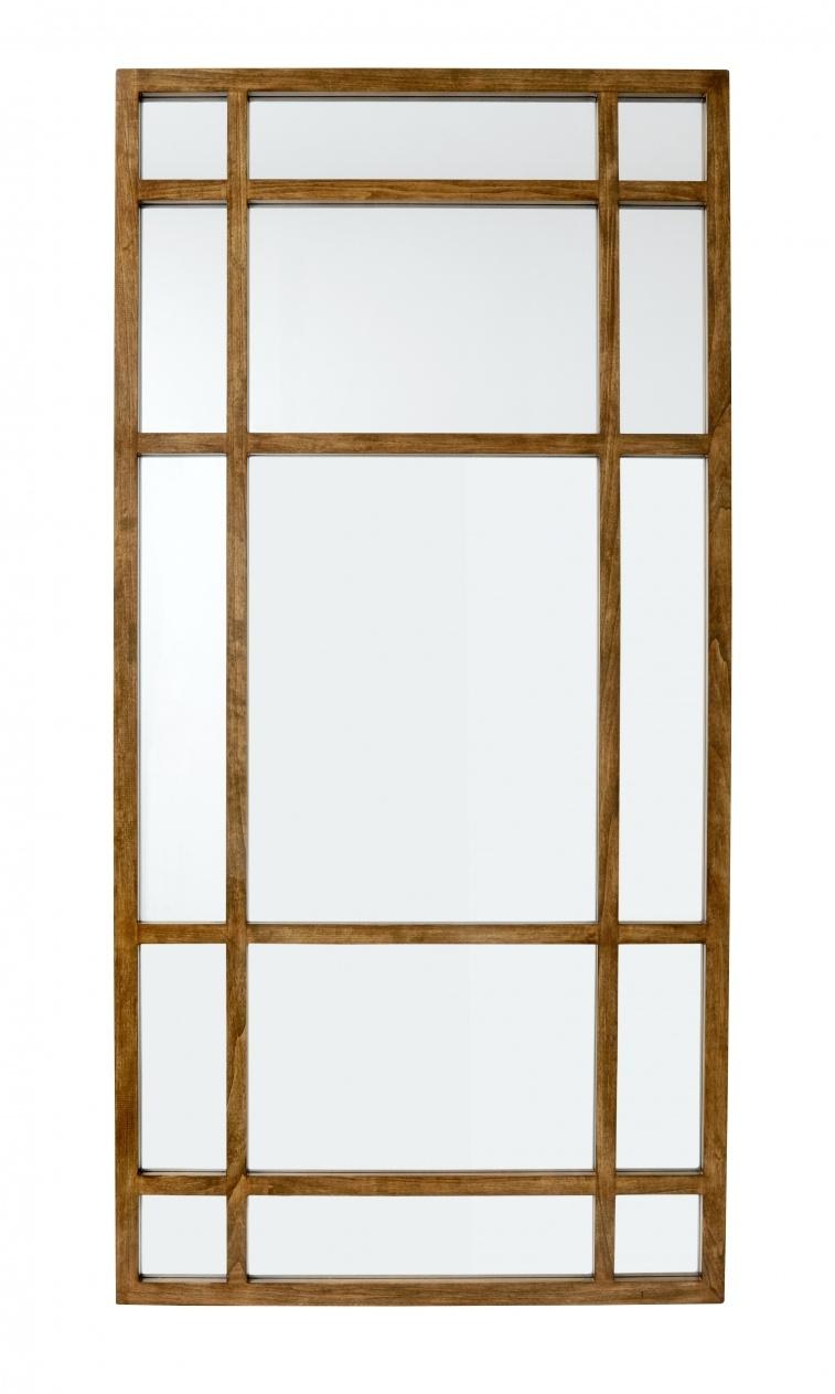 Nordal Miroir en bois 'Spirit' - 101x203cm - Nordal