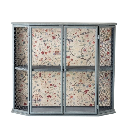 Bloomingville Cabinet - bleu - MDF / metal  - L70xH60xW26 - Bloomingville