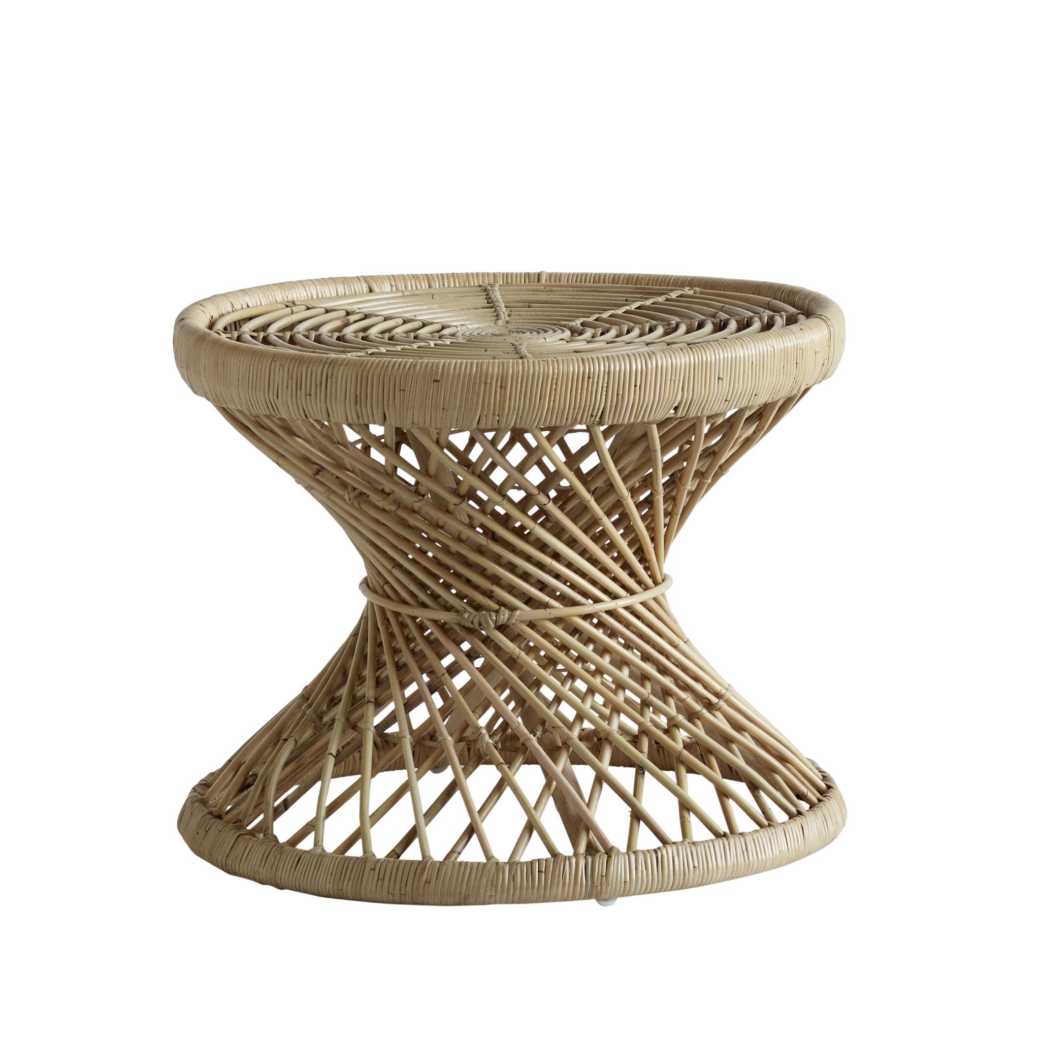 TineKHome Rattan coffee table - Natural - Ø60x47cm - TineKHome