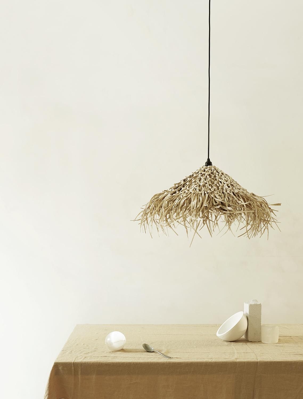 TineKHome Lamp shade in seagrass - Ø70cm - naturel - TineKHome