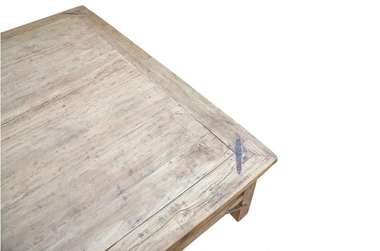 Raw wood coffee -154x136xh46cm - Walnut