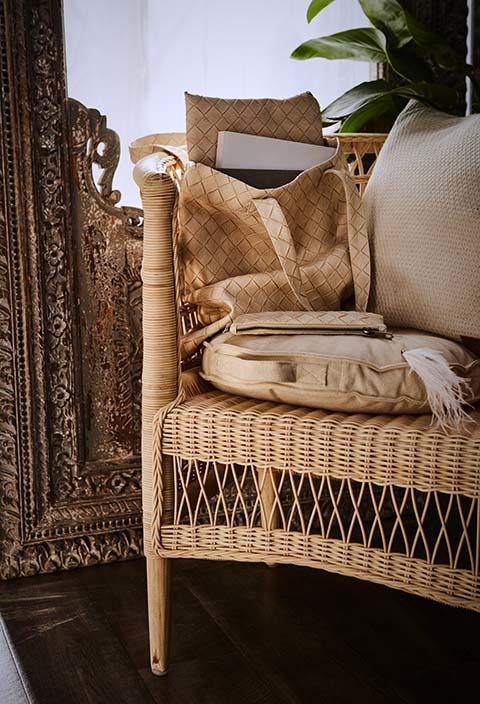 Petite Lily Interiors cadre en bois, Inde - 105x10xH190 cm - piece unique