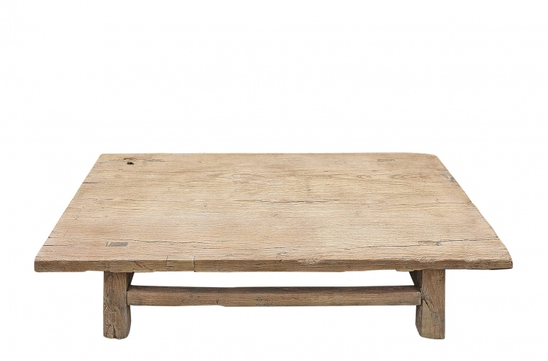 Snowdrops Copenhagen Coffee table lounge - raw wood - 102x56xh22cm - Unique item