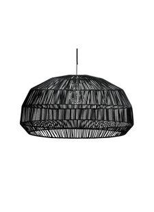 Ay Illuminate Suspension en rotin Nama1  - noir -  Ø73x38 - Ay Illuminate