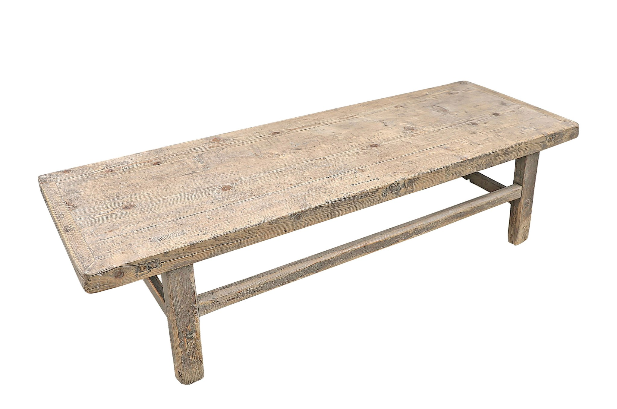 Snowdrops Copenhagen Natural coffee table - 164x56xh42cm - Elm Wood  - SOLD