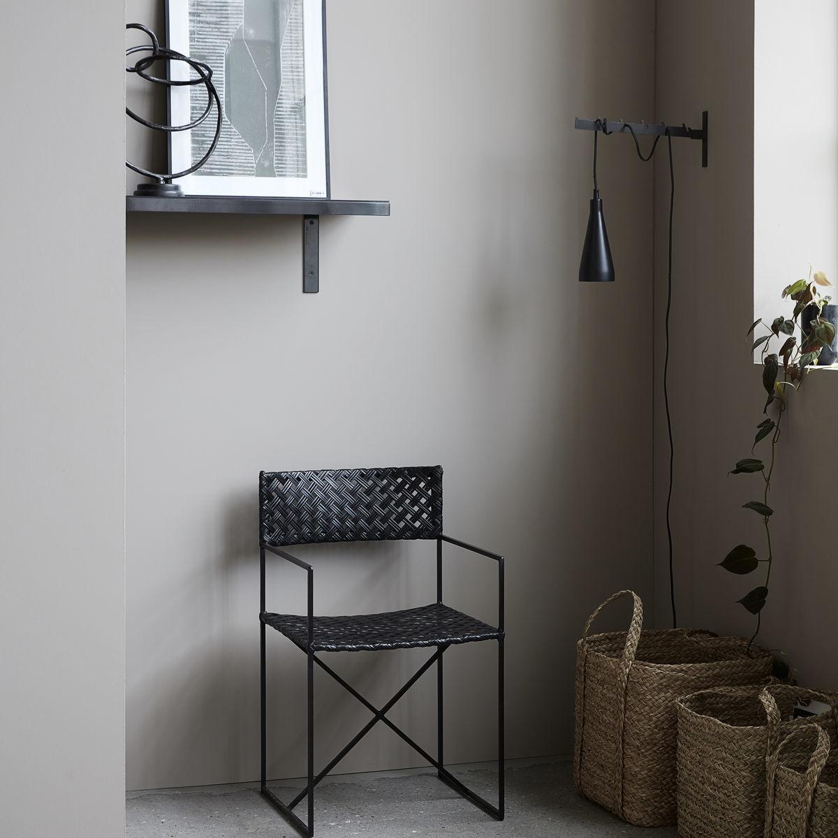 House Doctor Hanging lamp Jammu - black iron - Ø9Xh23,5cm - House Doctor
