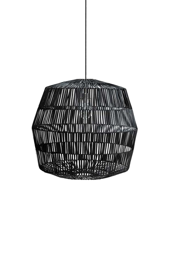 Ay Illuminate Natural rattan pendant Nama 4 - black - Ø72xh64 cm - Ay Illuminate
